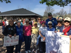 ACE marches in Tax Day March